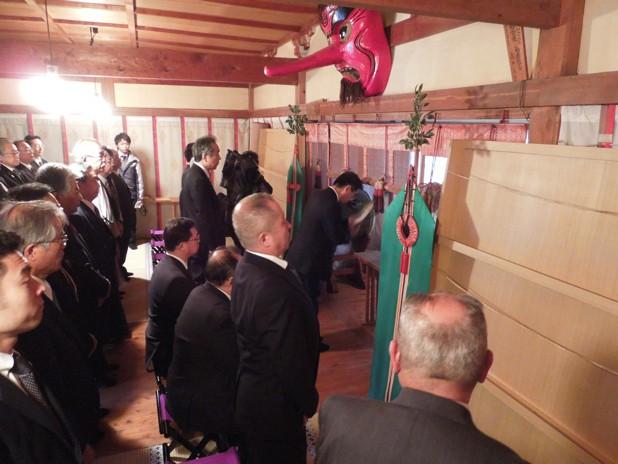 いわき市久ノ浜諏訪神社参拝